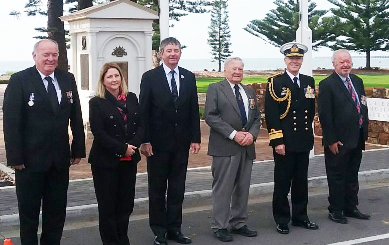 Victor Harbor RSL officials