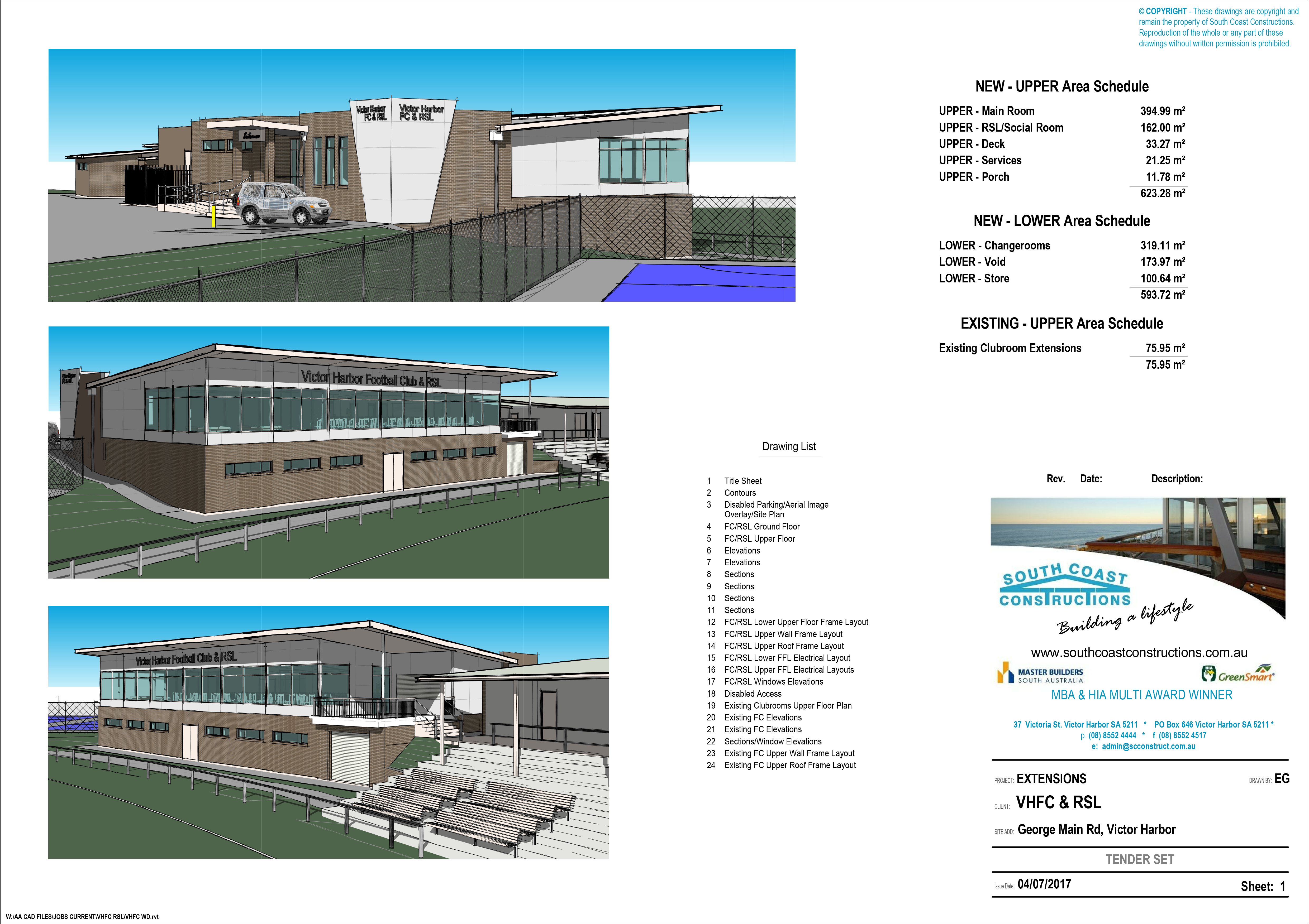 Victor Harbor Football Club Victor Harbor RSL development