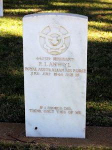 ANWYL, Paul Illtyd (RAAF 442319) grave image