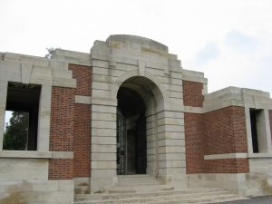 (4) BATTYE, Albert Wilkinson (S_N 3020), Lijssenthoek Military Cemetery, front view