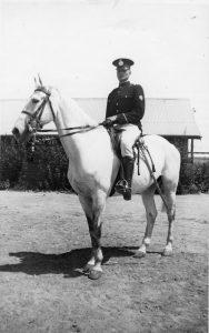(5) DAVIS, Brendan John (RAAF 407225), policeman mounted division