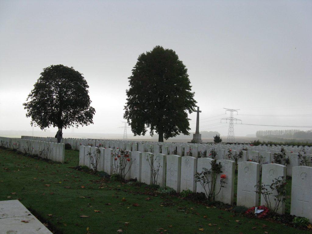 (1) GOSSE, William Hay - Varennes Military Cemetery