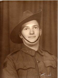 (2) DEPLEDGE, Geoffrey Arthur William (S56416) portrait army copy