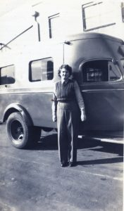 (6) HENDERSON, Milicent May (Army SF113524), winter trousers