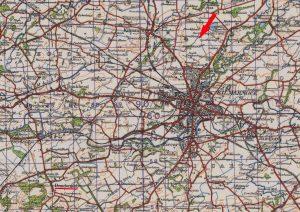 (7) GROSVENOR, Robert Archer (RAAF 417954), crash site copy