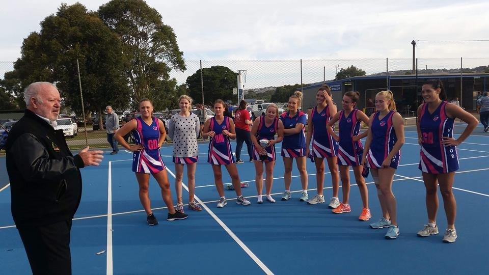 Victor Harbor Netball girls win