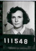 The enlistment photograph of Mollie from her service file, it was taken on15 November 1943.